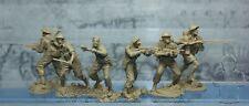 Plastic Platoon Toy Soldiers WWII British infantry Battle Crete set 2 1:32 NEW