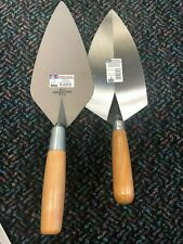 "Marshalltown Brick Trowel Set (10"", 11"")"
