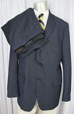 BANANA REPUBLIC Suit 44R Navy Mohair Wool Modern Fit Vitale Barberis Canonico