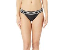 MIKOH SWIMWEAR Women's Kaupo Bikini Bottoms in Night 5471 Size XL