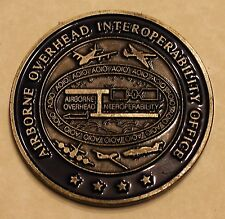 Airborne Overhead Interoperability Office DoD NSA NRO Challenge Coin