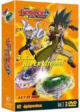 Beyblade metal fusion volume 3 COFFRET 3 DVD NEUF SOUS BLISTER