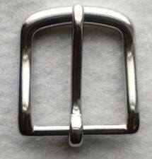 "1-1/2"" Brass Belt Buckle With Chrome Polish"