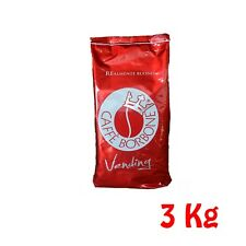 3 kg 3 Buste Caffè Borbone Grani Miscela Rossa Rosso Vending Originale Chicchi