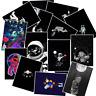 50 Galaxy Mond Moon Stickerbomb Aufkleber Sticker Mix Decals space Black White