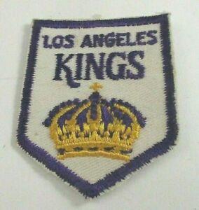 "Los Angeles Kings, Vintage Cloth Patch, 2""x2.5"" Original Logo (1976) Never Used"