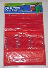 Learning Resources Place Value & Counting Pocket Chart Brand New Homeschool