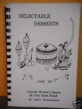 Catholic Women'S League,St Pius Tenth Parish Cookbook,Newfoundland
