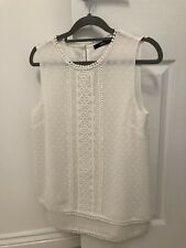 Ladies Oasis Cream Top Size 10