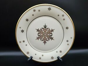 Lenox ETERNAL CHRISTMAS Snowflake Accent Luncheon Plate