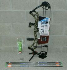 "Bear Salute- Ready to Hunt Bow Package- 20 to 30"" Draw Length- 50 to 70 pounds!"
