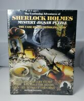 Sherlock Holmes Mystery Jigsaw Puzzle The Case of the Meddling Maid Bits Pieces