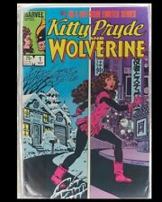 Kitty Pryde and Wolverine #1 1984 Copper Age Limited Marvel Series