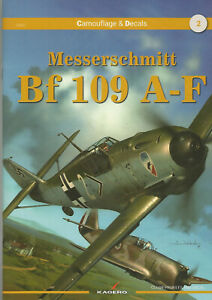 Messerschmitt Bf 109 A-F   NEU & OVP   Kagero Camouflage & Decals No.2