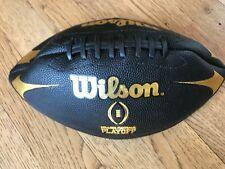 Wilson College Football Playoff Black Edition Jr Football / Junior Size New