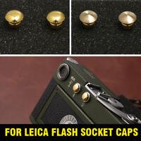 Leica Flash Socket Caps (2019 Upgrade ) Leica M3/M2/M1/MD Flash Socket Cover