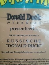 Donald Duck Weekblad, 40 jarig jubileum collectors item met erste Russiche Duck!