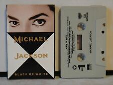 Vintage Michael Jackson Single Cassette Tape~Black Or White~ 1991