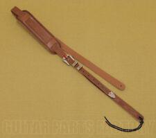 922-0021-000 Gretsch Guitar Tooled Leather Natural Cowboy Strap Guitar/Bass