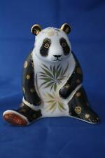 ROYAL CROWN DERBY GIANT PANDA PAPERWEIGHT MMVII - BOXED