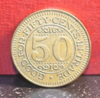 Vintage Louies Texas Red Hots Buffalo New York 50c in Trade Token