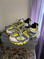 Balenciaga Track Yellow Sneakers New Size 43