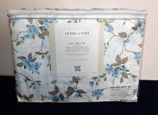 Home At Last King Sheet Set Cotton/Polyester Extra Deep Pockets face mask mat