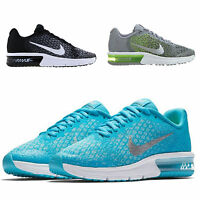 NIKE KIDS JUNIOR AIR MAX SEQUENT SPORTS GYM RUNNING SCHOOL FITNESS TRAINERS SHOE