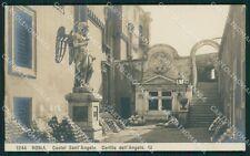 Roma Castel Sant'Angelo NPG foto cartolina XB3834