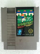 VINTAGE Nintendo NES Video Game - 10 YARD FIGHT  - Cartridge Only - WORKING