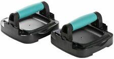 2er Set Liegestützgriffe mit Rollen Push-Up Stand Bar Griffe für Liegestütze
