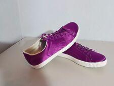 "PUMA ""SERGIO ROSSI"" Clyde Sport Femmes Chaussure Sneaker Taille 40 Violet Nouveau"