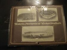 HISTORIC MOMENTS at YANKEE STADIUM / 1985 CALENDER