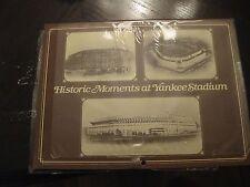 HISTORIC MOMENTS at YANKEE STADIUM / 1985 CALENDER