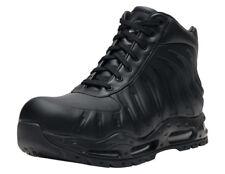 reputable site 6d9b2 e8b6b Nike Air Max Foamdome Size 9.5 Foamposite Boots Triple Black 843749-002
