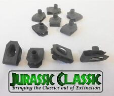 46-80 Chevy AMC 10pk #8-32 Extruded Fender U-Nuts Clips Hood Body Panel Console