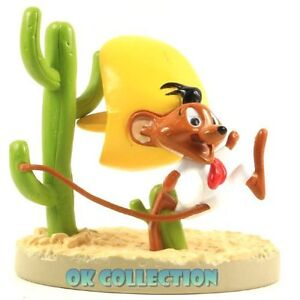 "Looney Tunes Plastic Figure SPEEDY GONZALES (h.3"") - DeAgostini Italian 09"