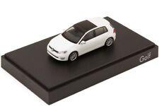 RARE VW GOLF 5G VII 7 GT HIGHLINE PURE WHITE 5 DOOR 1:87 RIETZE (DEALER MODEL)