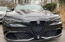 "Alfa Romeo Giulia Carbon Fibre ""V""  Grill and Emblem. High Quality UK"