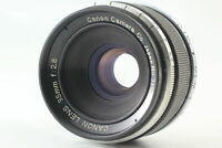 [Exc+5] Canon 35mm f/2.8 Black Lens LTM L39 Leica Screw Mount From JAPAN