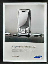 Samsung D840 - Mobile Phone - Magazine Advert #B3986