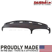 CTCAUTO Black Molded Dash Cover Cap Overlay Fits For 98-02 Dodge Ram 1500 2500 3500 Molded