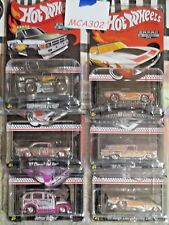 Hot Wheels Walmart Exclusive Zamac Complete set of 6 Mail-In Cars-'87 TOYOTA P/U