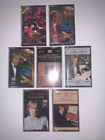 Lot of 7 Richard Clayderman Cassette Tapes