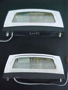 Ferrari License Plate Lamp Light_Carello_Body Seal Gaskets_Pair_275 GTS_330_OEM