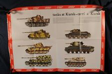 Poster, Tanks that fought at Battle of Kursk 1943 1976 (380Oz)