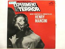 Experiment In Terror Pair  Soundtrack LP + Rare Bob Bain Radiant 1509 Single