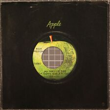 "Billy Preston All That I've Got / As I Get Older 7"" 45 RPM Apple 1817"