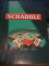 Spears Games Scrabble Rules Of Play / Instructions