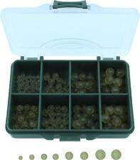 Stopperperlen Angeln Perlen Gummiperlen Rubber Beads Gummikugeln 150 Stück